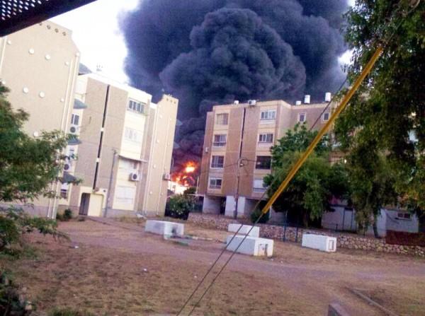 Sderot-Gaza rocket strike