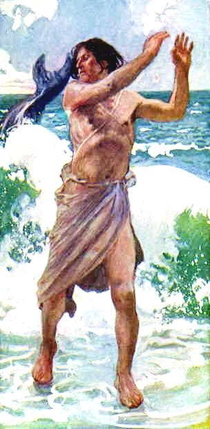 The Prophet Jonah-James Tissot