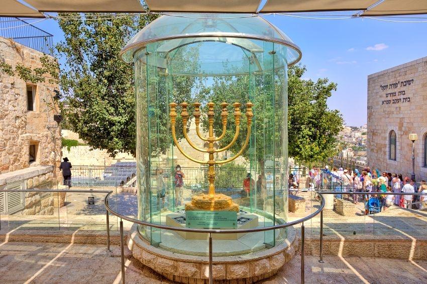 Gold Menorah Third Temple Temple Mount Temple Institute