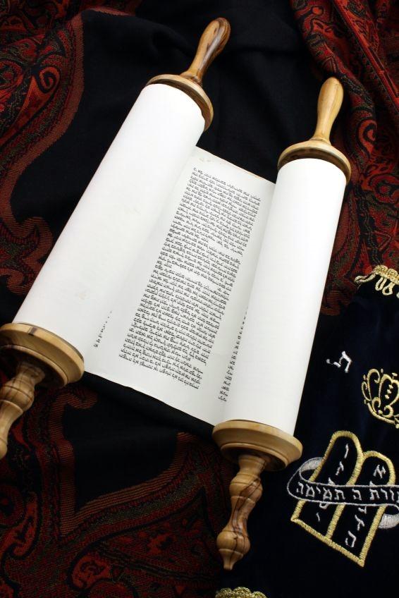 Torah-scroll-mantle-cover
