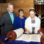 Torah scroll-bat mitzvah-Jewish milestones-family