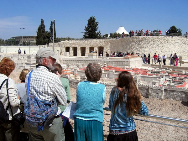 Model of Temple and Jersualem