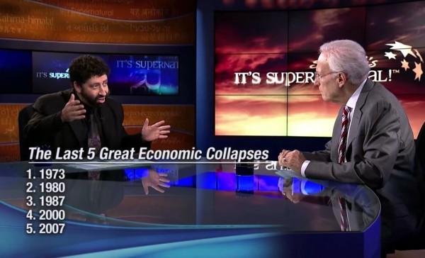 Jonathan Cahn-Shemitah-Economic Collapses-Sid Roth-It's Supernatural