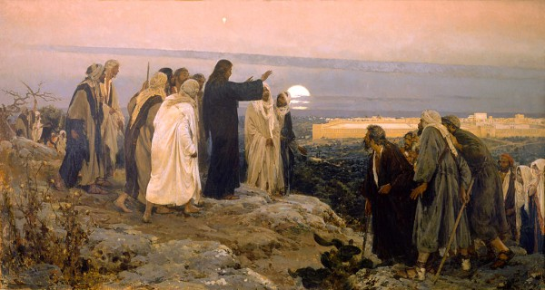 Flevit Super Illam (He Wept Over It), by Enrique Simonet
