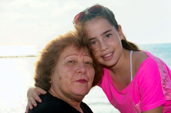 Israeli child-grandmother