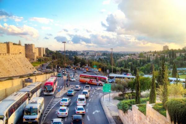 Traffic-Jerusalem