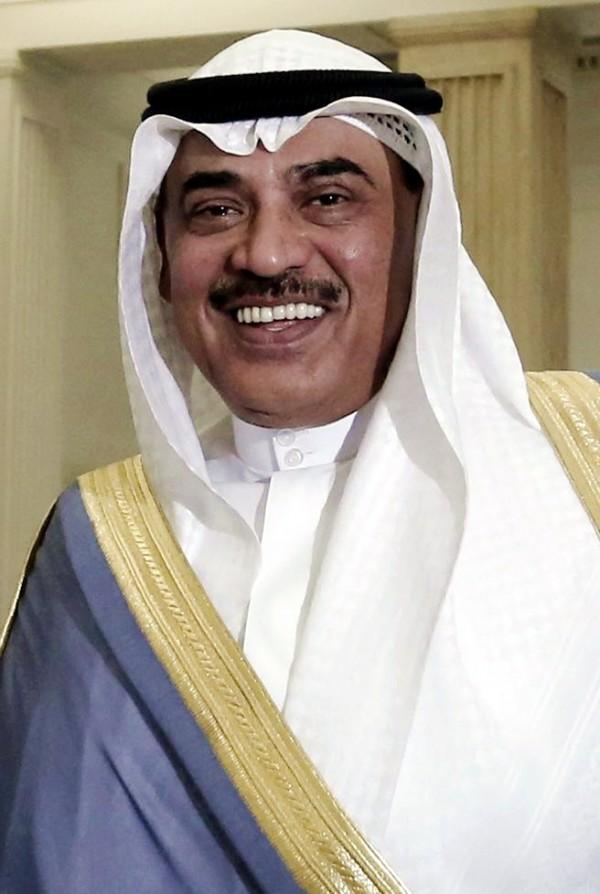 Foreign Minister Sheikh Sabah al-Khaled al-Sabah