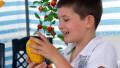 Sukkah-Citron-Israeli Boy-Sukkot-Feast of Tabernacles