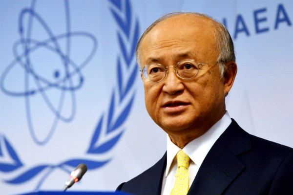 Yukiya Amano, Director General of the International Atomic Energy Agency (IAEA)