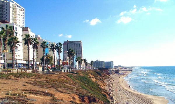 Bat Yam is an Israeli city on the Mediterranean Coast.