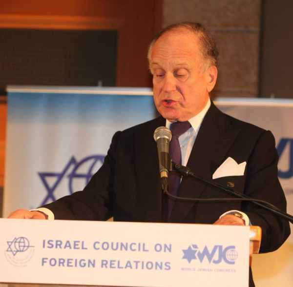 Ronald S. Lauder, president of the World Jewish Congress
