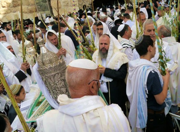 Sukkot-Western Wall-Four Kinds