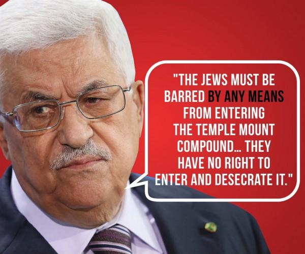 Abbas-headshot-quote-Netanyahu Facebook