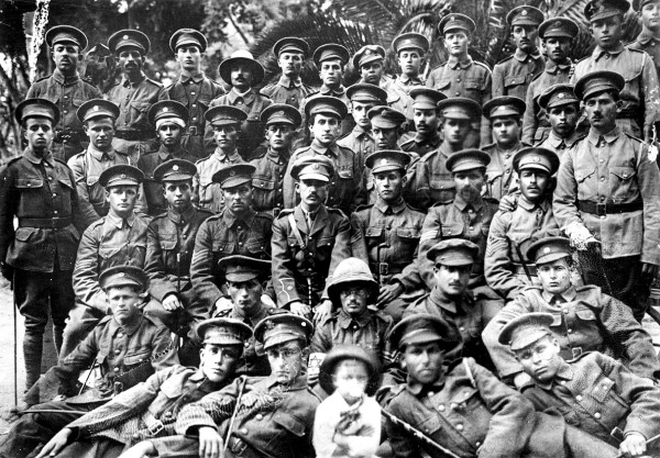The Zion Mule Corps in Gallipoli
