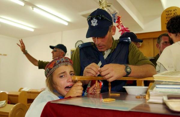 IDF evacuation Jewish settlers Gaza Strip