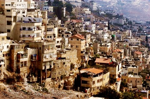 Silwan, a neighborhood in Jerusalem