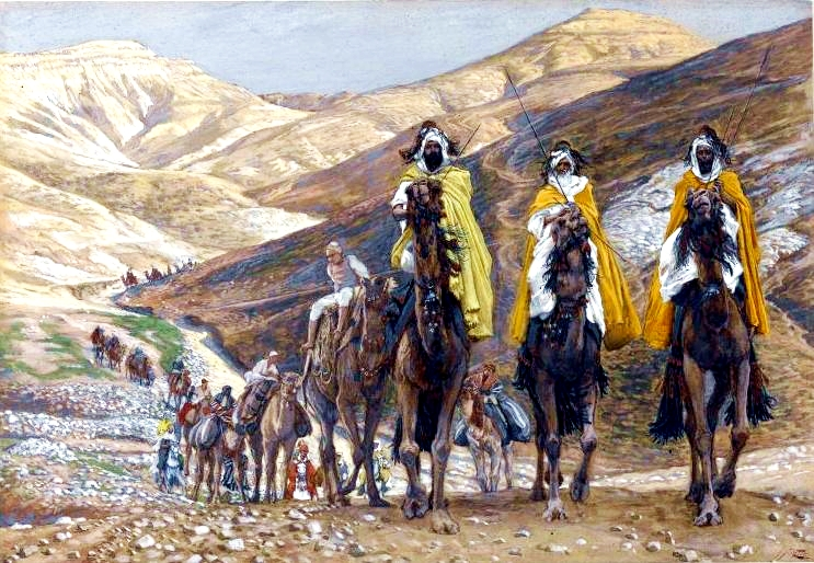 The Magi Journeying, by James Tissot