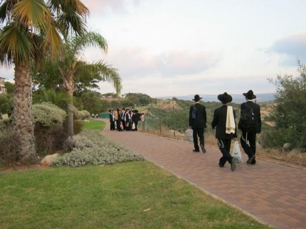 promenade sraeli settlement of Immanuel Samaria