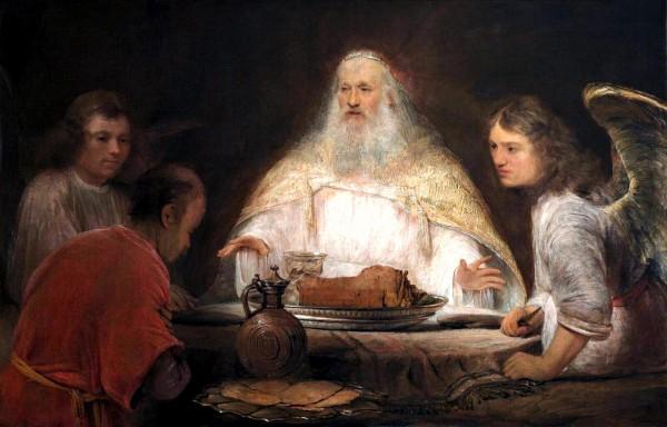 Abraham and the Angels, by Aert de Gelder