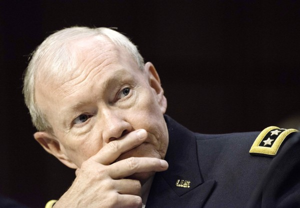 Chairman of the Joint Chiefs of Staff, US General Martin Dempsey