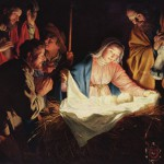 The Adoration of the Shepherds, by Gerard van Honthorst