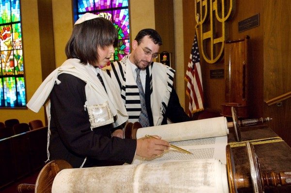 Read Torah 13 years Bar Mitzvah