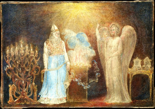 The Angel Gabriel Appearing to Zecharias, by William Blake