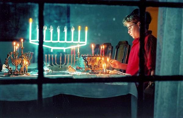 Chanukkah-Hanukkah-menorah-hanukkiah