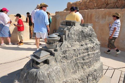 Masada-Model-Tourists-Israel