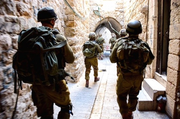 IDF Soldiers search missing teens