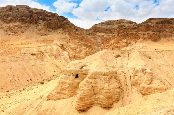Dead Sea Scrolls-Qumran-Cave 4-Judean Desert-Israel