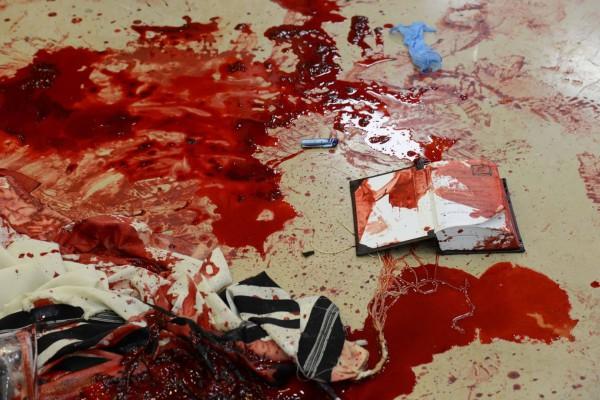 Attack synagogue Palestinian Jewish