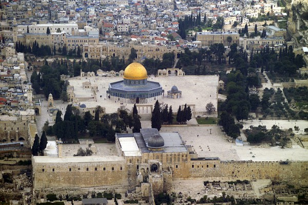 Aerial view Temple Mount