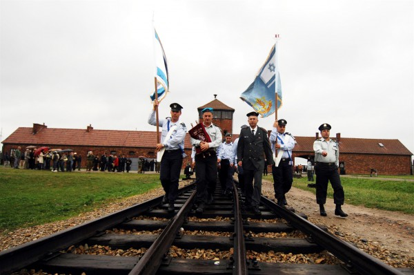 "As a central component to Holocaust education for those who serve in uniform in Israel, each year, two delegations of ""Witnesses in Uniform,"" consisting of Police officers, Border Police officials, Ministry of Public Security representatives, and Fire and Rescue Services personnel, as well as representatives of bereaved families, travel to Poland."