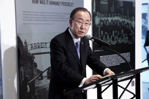 Shoah: How was it humanly possible?-Moon-UN-Yad Vashem