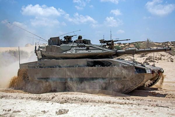 Merkava-Trophy-Tank-Windbreaker