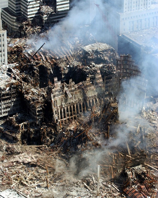 Devastation of World Trade Center