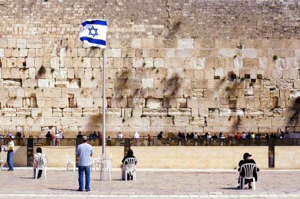 Prayer at the Western (Wailing) Wall in Jerusalem