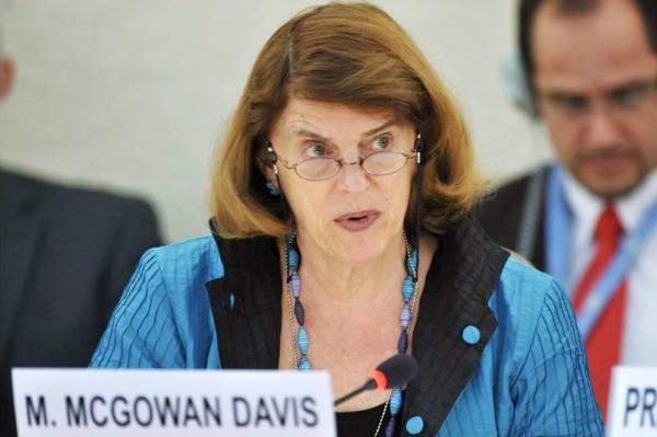 Mary McGowan Davis-war crimes