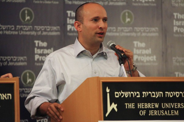 Naftali Bennett (The Israel Project photo by Mati Milstein)