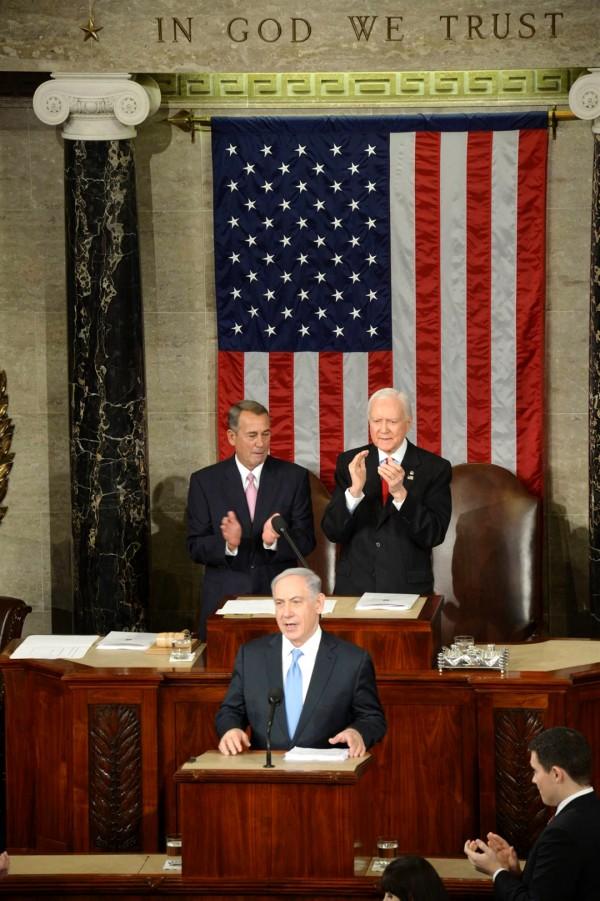 John Boehner-Netanyahu-Congress