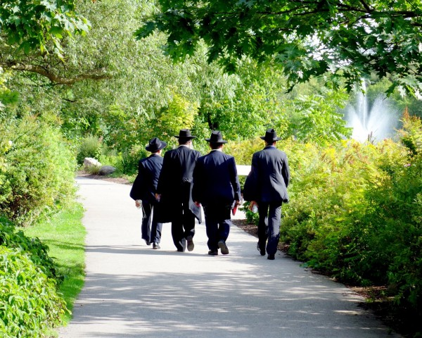 Four Jewish Men in Toronto, Canada