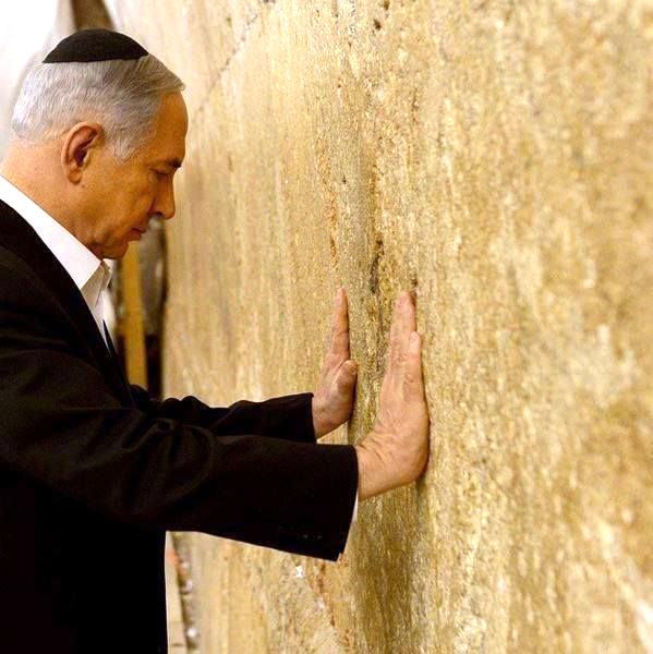 Netanyahu visits Western Wall