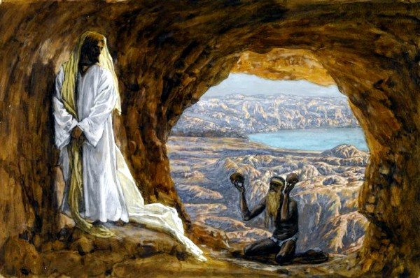 Yeshua Tempted in the Wilderness, by James Tissot