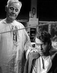 The Guardian Angel Clarence in Its a Wonderful Life.