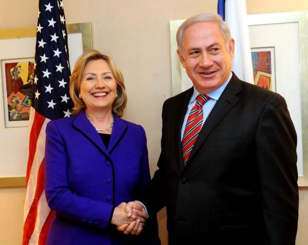 Hilary Clinton-Benjamin Netanyahu