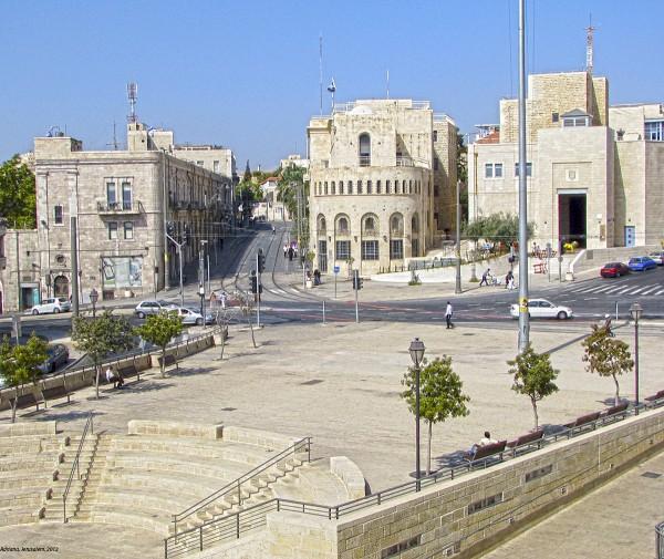 Kikar Tzahal-Jerusalem.