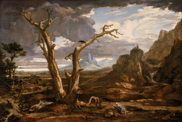 Elijah in the Desert, by Washington Allston