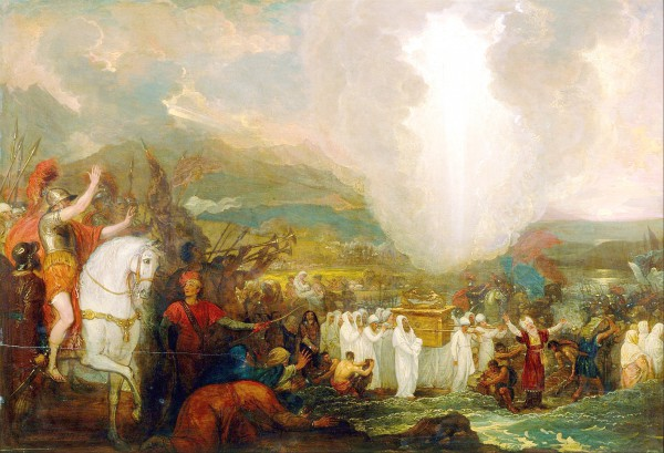 Joshua Passing the River Jordan with the Ark of the Covenant, by Benjamin West