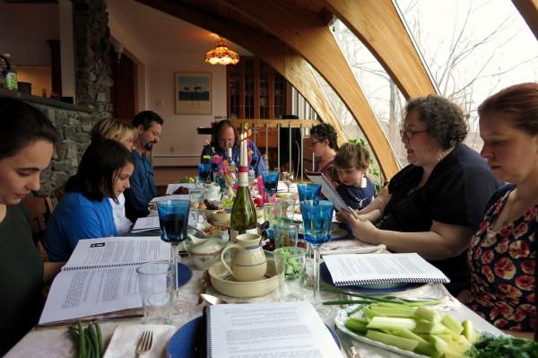 Passover Seder (photo by Rachel Barenblot)